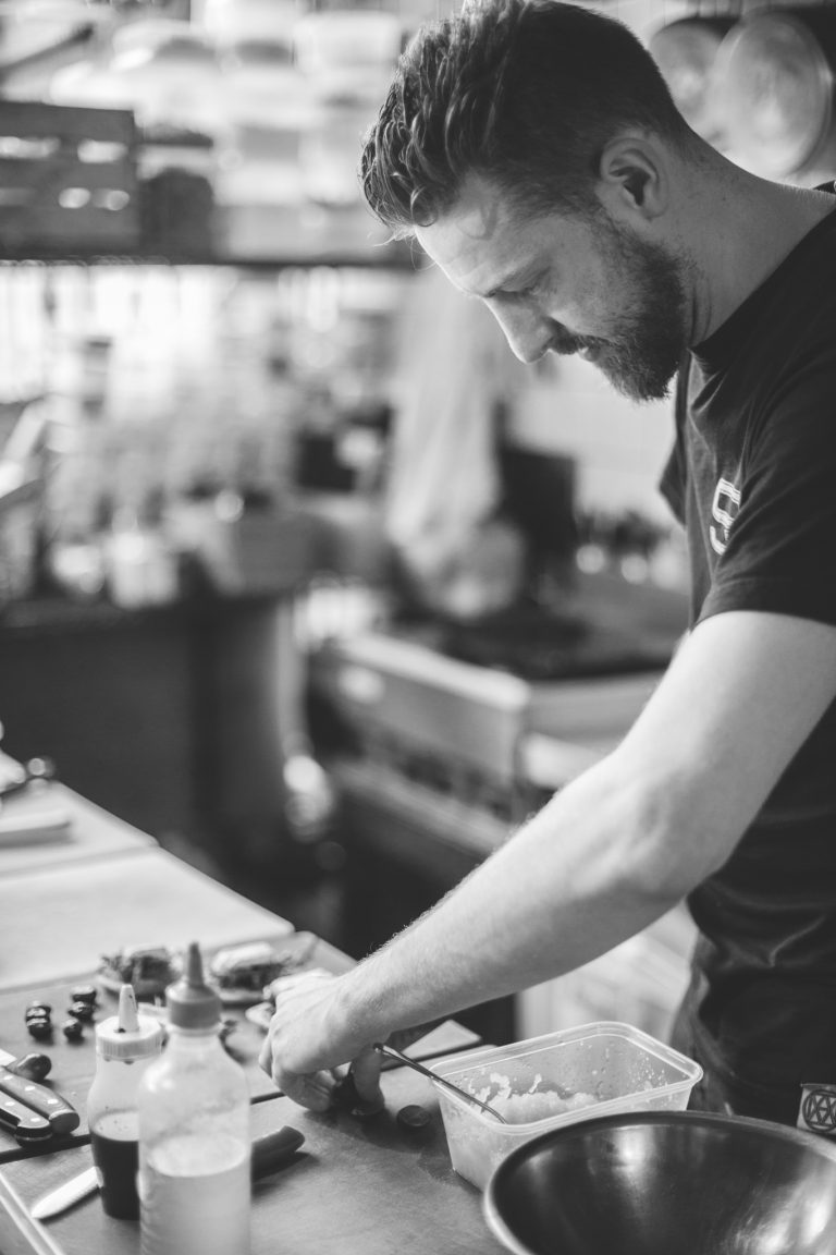 Chef Stockdale - The Old Workshop - Steel Life Clothing